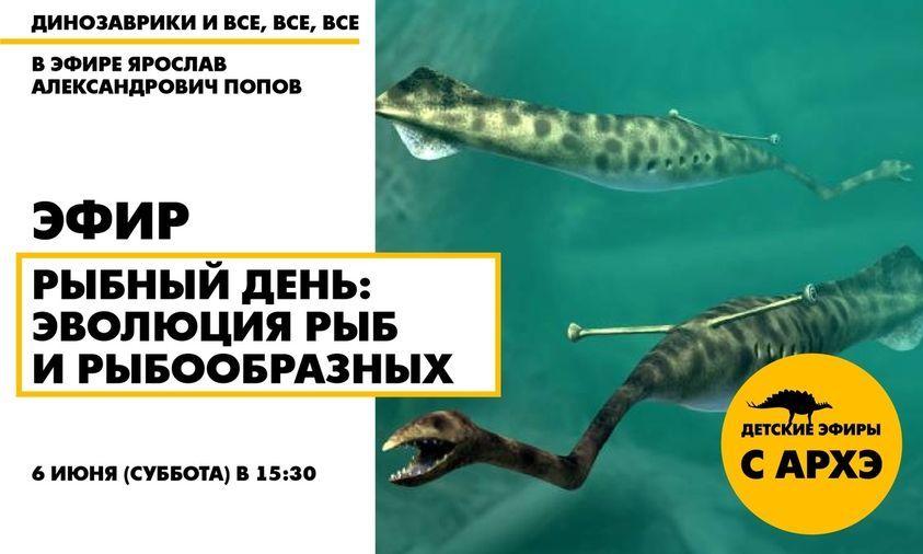 """""""Рыбный день: эволюция рыб и рыбообразных"""""""