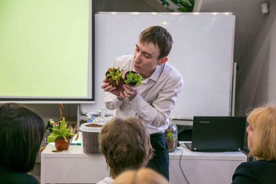4 июля в Московском Зоопарке состоялась лекция Сергея Куницына об уникальных плотоядных растениях
