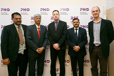 РНФ обсудил с индийскими партнёрами подготовку к очередному совместному конкурсу