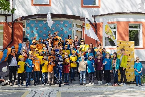 День защиты детей и открытие смены Косморобо!