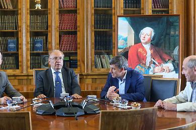 Александр Хлунов посетил заседание Генеральной ассамблеи APPEC в МГУ